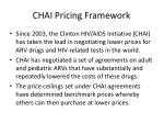 chai pricing framework