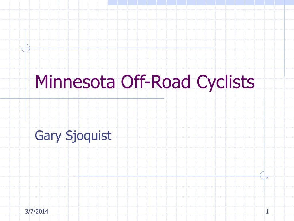 minnesota off road cyclists l.
