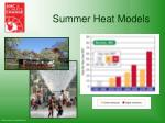 summer heat models