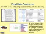 food web constructor