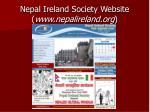 nepal ireland society website www nepalireland org
