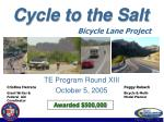 cycle to the salt67