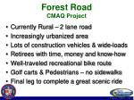 forest road cmaq project