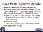 pikes peak highway update