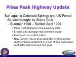 pikes peak highway update69