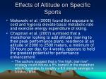 effects of altitude on specific sports10