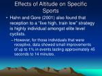 effects of altitude on specific sports11