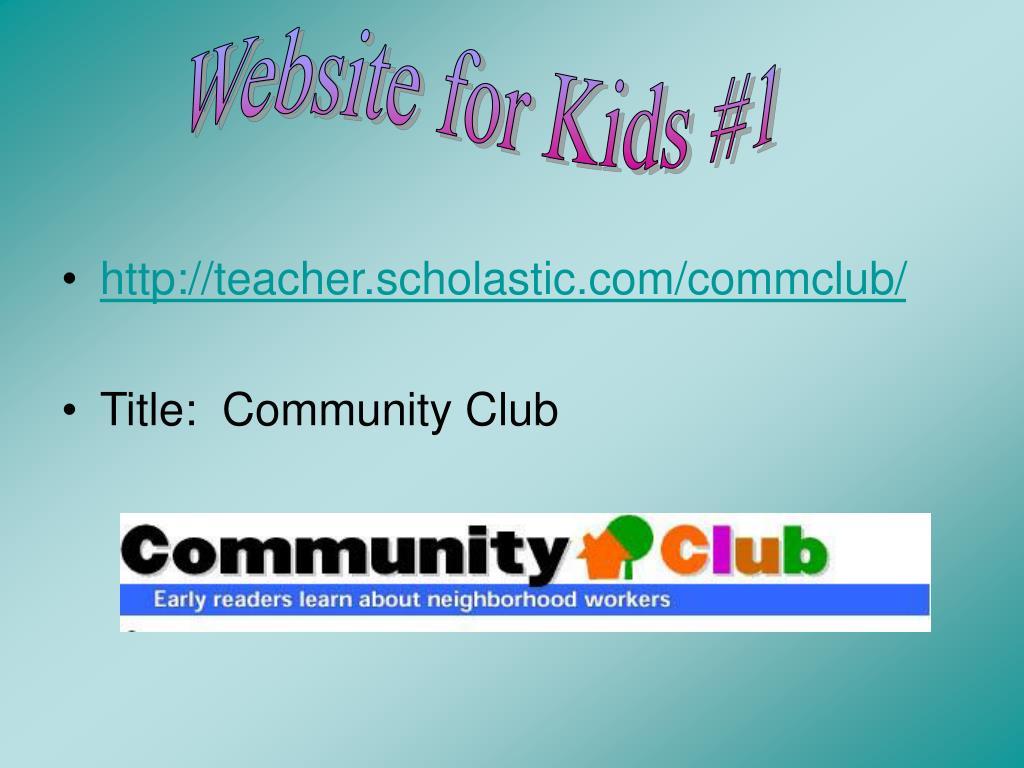 Website for Kids #1