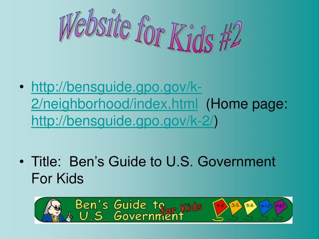 Website for Kids #2