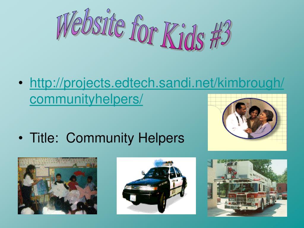 Website for Kids #3