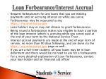 loan forbearance interest accrual