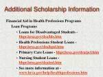 additional scholarship information14