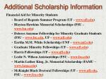 additional scholarship information15
