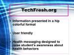 techfresh org10