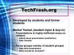 techfresh org11
