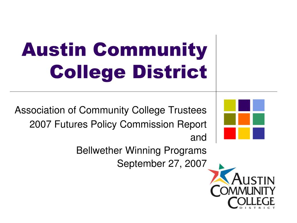 austin community college district l.