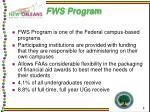 fws program