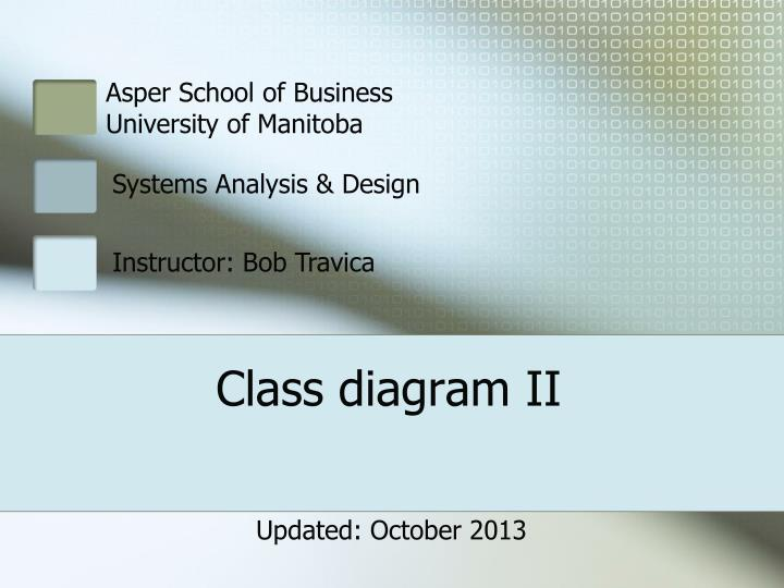 Ppt class diagram ii powerpoint presentation id506799 class diagram ii ccuart Choice Image