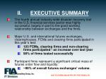 ii executive summary