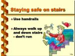 staying safe on stairs37