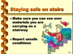 staying safe on stairs38