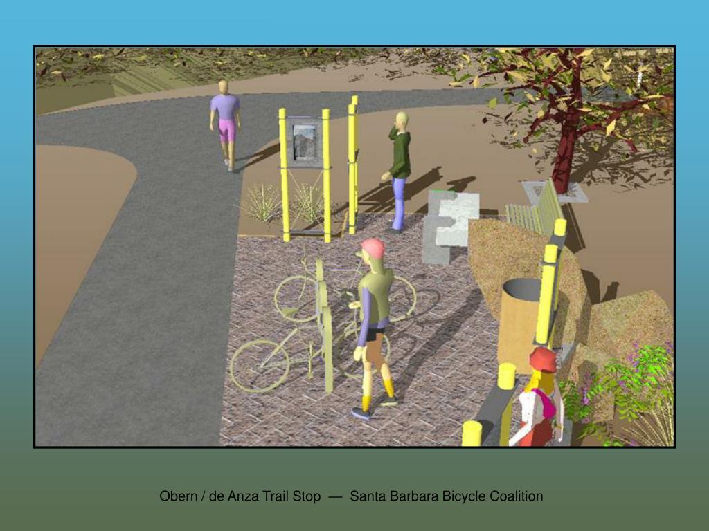 Obern / de Anza Trail Stop  —  Santa Barbara Bicycle Coalition