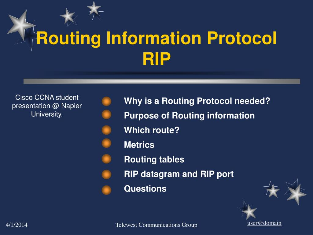 routing information protocol rip
