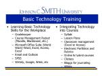 basic technology training