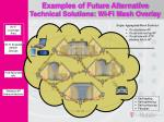 examples of future alternative technical solutions wi fi mesh overlay