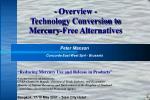 overview technology conversion to mercury free alternatives