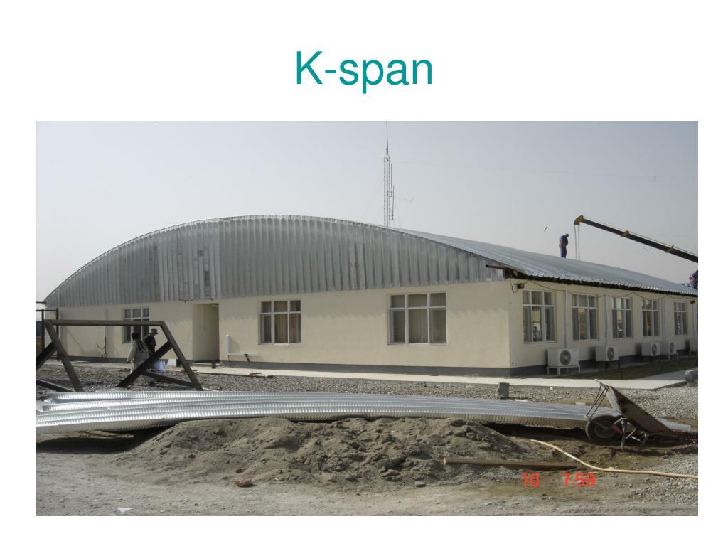 K-span