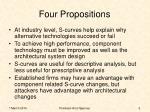 four propositions