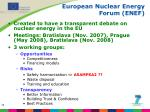 european nuclear energy forum enef