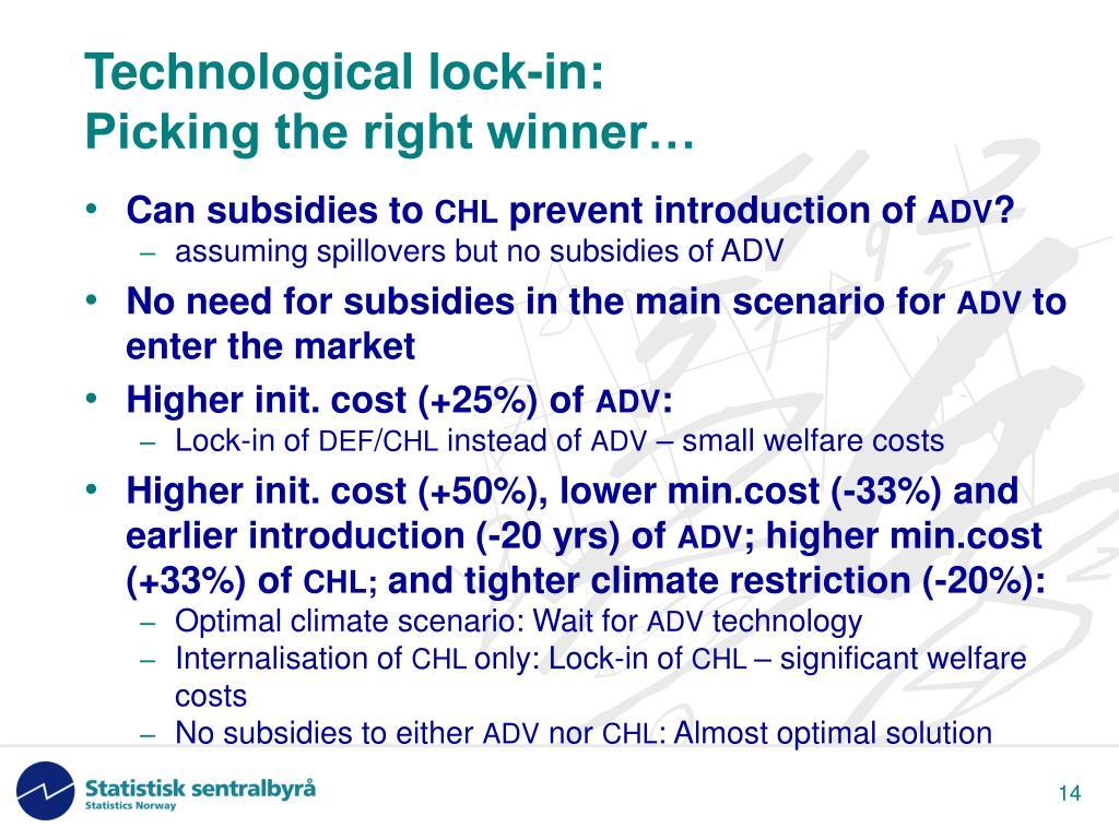 Technological lock-in: