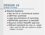 design 16 shared systems