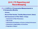 141 175 reporting and recordkeeping39