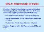 142 14 records kept by states53