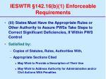 ieswtr 142 16 b 1 enforceable requirements62