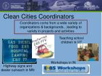 clean cities coordinators