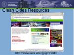 clean cities resources