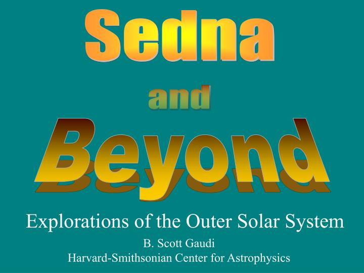 explorations of the outer solar system n.