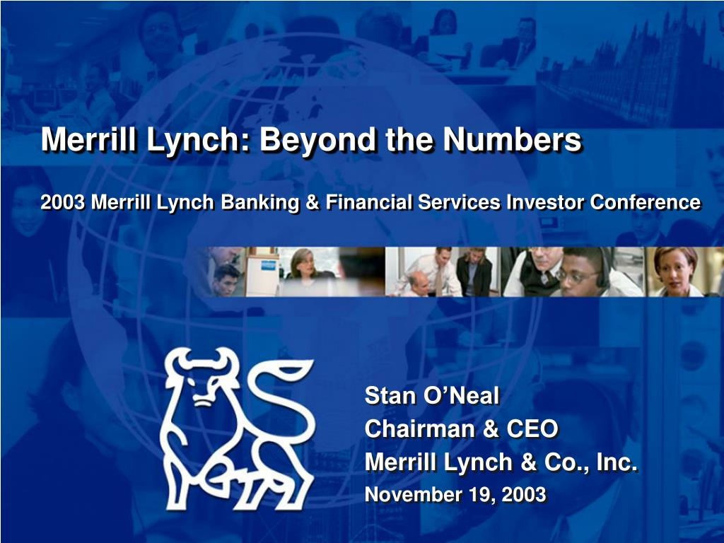 2003 merrill lynch banking financial services investor conference l.