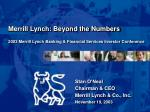 2003 merrill lynch banking financial services investor conference