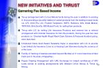 new initiatives and thrust30