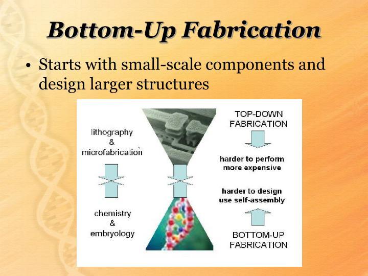 Bottom up fabrication