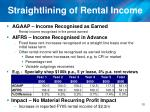 straightlining of rental income