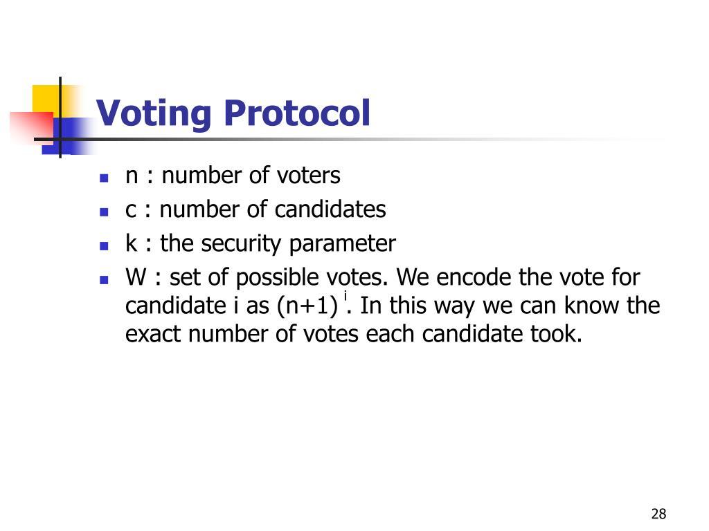 Voting Protocol