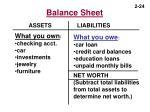 balance sheet24