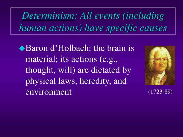 hard determinism The fact the determinism can not be rationally affirmed is the greatest problem of determinism consider that you think that determinism is true.