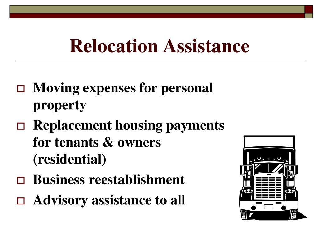 Relocation Assistance